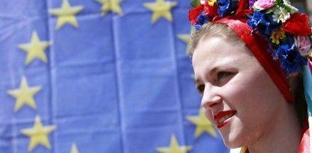 Украинцы выбирают Евросоюз