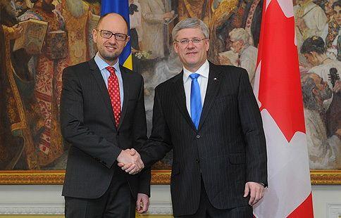 Канада предоставит украинскому правительству пакет помощи для проведения реформ.