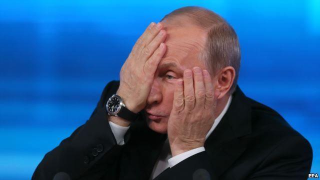Вразливе місце Путіна