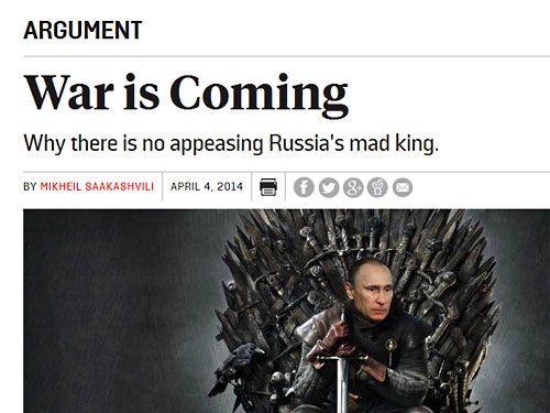 Foreign Policy. Війна наближається: чому божевільного короля Росії неможливо задобрити