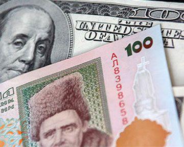 Официальный курс гривни продолжает бить рекорды падения