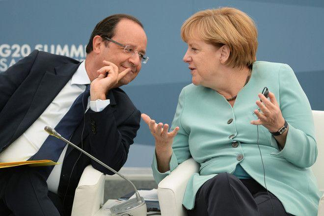 Меркель и Олланд звонили Путину по поводу ситуации в Украине