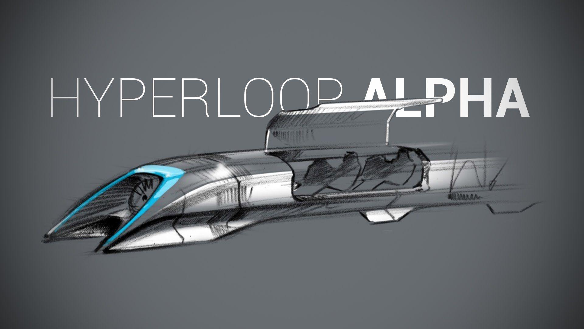 Проект поезда Hyperloop впервые может быть реализован в Словакии