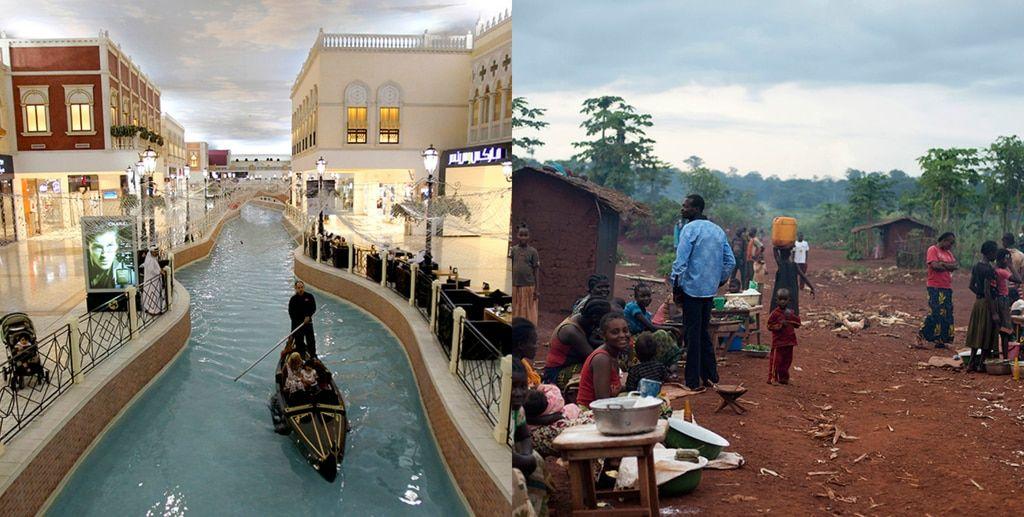 Колоссальная разница: фотобудни самой богатой и беднейшей стран мира