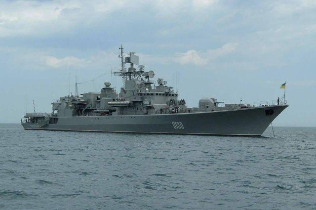 В Черном море прошли учения украинских и турецких ВМС