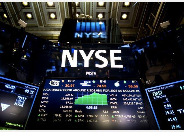 Dow Jones завершил торги рекордным ростом