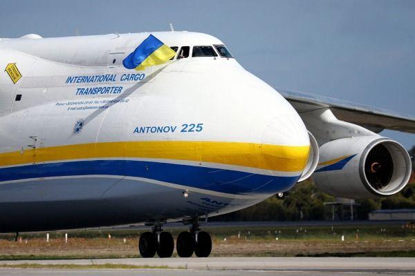 Самый большой в мире самолет Ан-225 «Мрия» впервые приземлился в Австралии (фото, видео)
