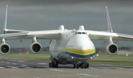 Antonov AN-225. See colossus of the clouds arrive