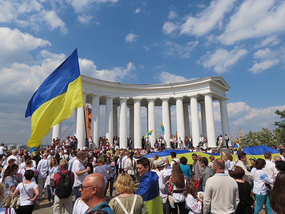 Одесский парад вышиванок