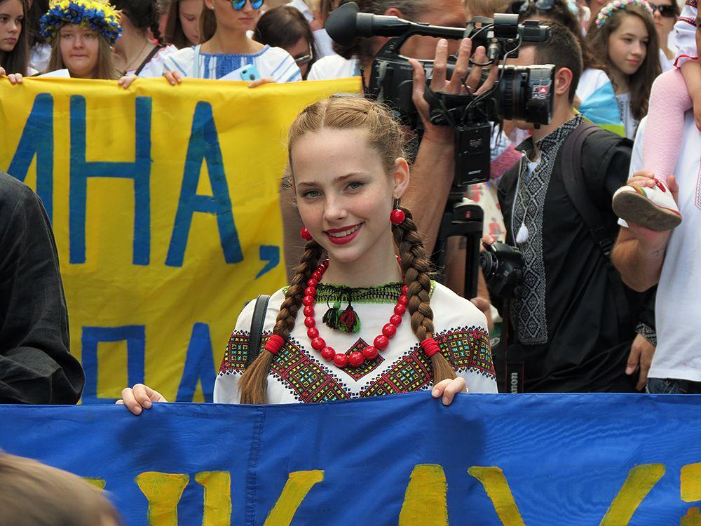 День вышиванок в Одессе