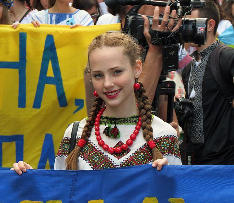 Одесса. Мегамарш в вышиванках (фото, видео)