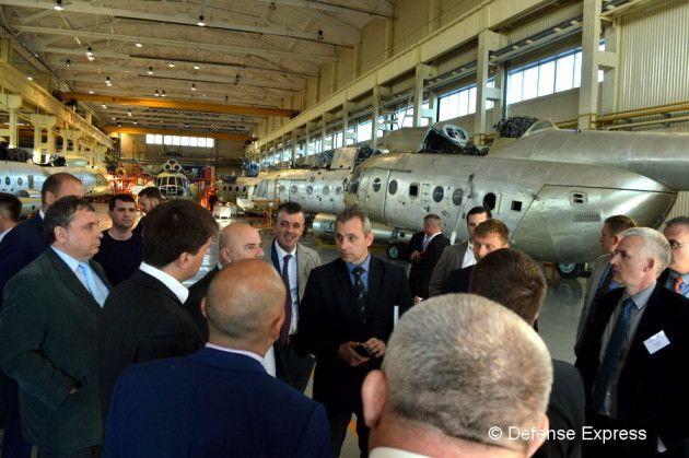 В Украине реализуется замкнутый цикл производства вертолетов