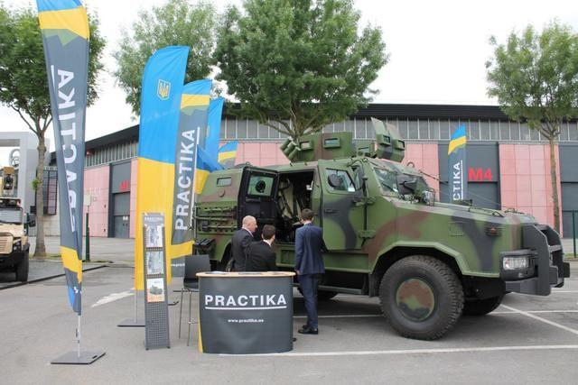 Украинские разработки оказались среди лучших на выставке вооружений во Франции