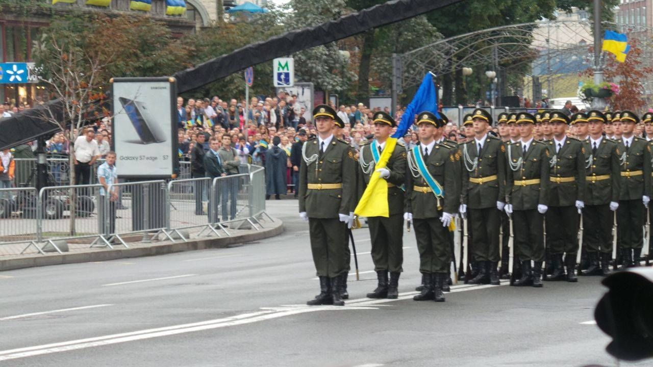 Военный парад в Киеве (фото, видео)