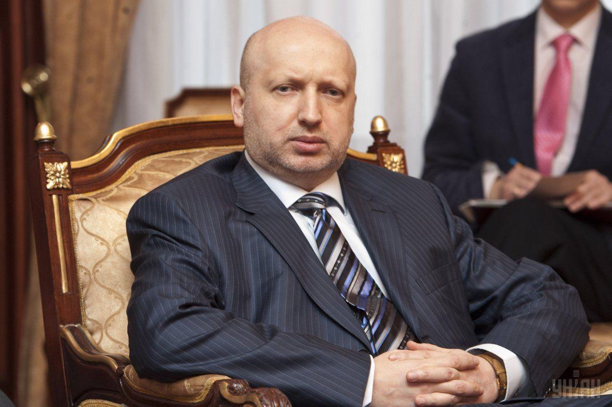 Александр Турчинов: Трусость – это страшный грех.