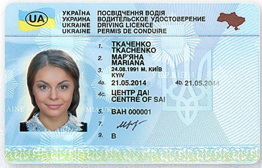 Водійські права європейського зразка в Україні почнуть видавати за два роки