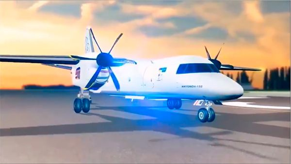 «Антонов» в декабре представит новый транспортный самолет Ан-132