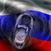 агрессивный русский медведь