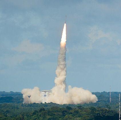 У Французькій Гвіані відбувся успішний запуск ракети-носія з українським двигуном (відео)