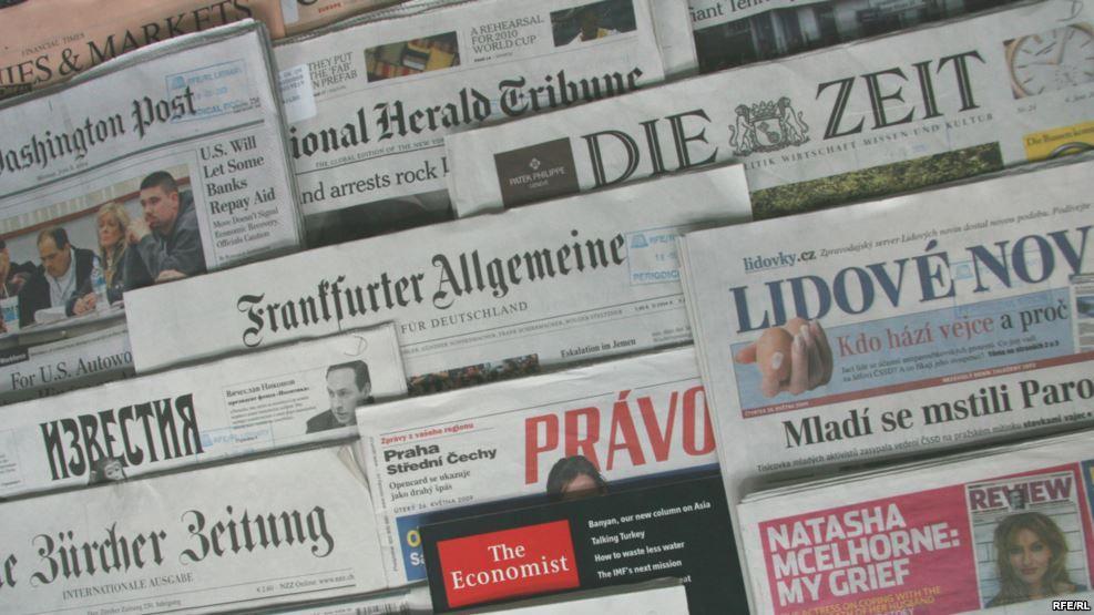 Західна преса про Україну. Грудень.