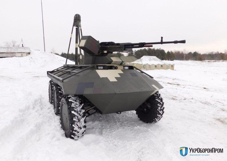 """«Укроборонпром"""" показав можливості роботизованих бойових модулів (фото, відео)"""