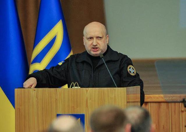 Олександр Турчинов про актуальні питання національної безпеки України