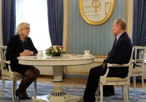 У Франції опитування вперше показало поразку Ле Пен в першому турі