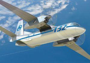 Перший політ літака Ан-132Д (відео)