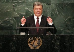 Petro Poroshenko: G7 must face down Russia or suffer disaster