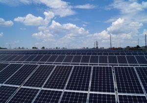 У Херсонській області побудована сонячна електростанція