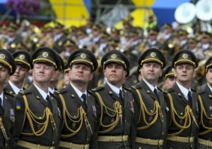 Військовий  парад на честь Дня Незалежності України (відео)