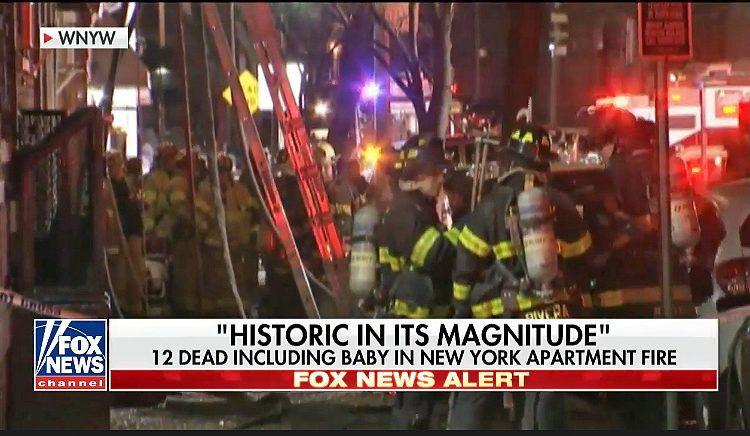 Пожежа в Нью-Йорку забрала більше 12 життів