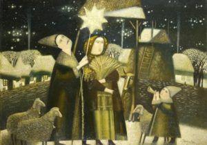 Різдво на картинах українських художників